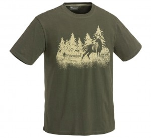 Koszulka T-shirt Pinewood Hunting 5576 green